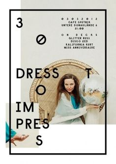 DRESS TO IMPRESS #poster