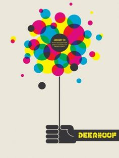 50 Amazing Gig Posters Sure to Inspire // WellMedicated #balloon