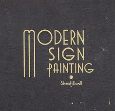 momentitus (Modern Sign Painting (by Depression Press)) #type #design #vintage #texture