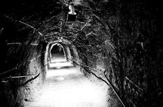 Jared Kirkwood Photography #white #black #tunnel #photography #and #stairs #europe
