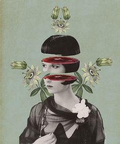 Julia Geiser #collage #illustration #vintage #design