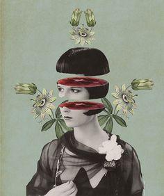 Julia Geiser #collage #illustration #vintage #design
