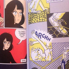 My comic is right next to the awesome @j__hicks in the Broken Frontier Yearbook. I am happy. Thanks @andywpoliver #brokenfrontier #comic #andyoliver #illustration #drawing #joshhicks