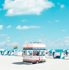 Cabana: Minimalist and Bold Landscapes of Miami Beach by David Behar