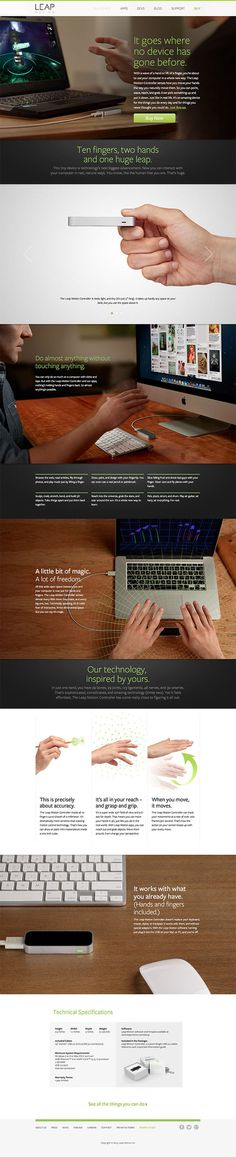 Leap-Motion #design #web #ui