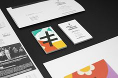 Stationery with bright illustrative detail for Freies Theater Hannover by Bureau Hardy Seiler #branding #identity