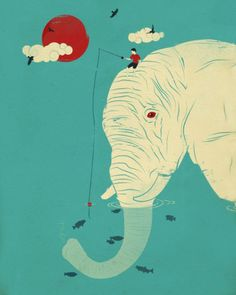 Whimsical Illustrations by Jay Fleck