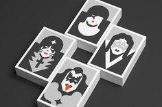 Kiss illustrations