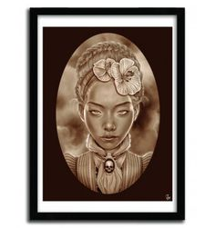 VICTORIAN GHOST by GIULIO ROSSI #print #art
