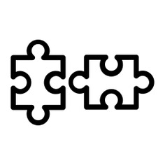 See more icon inspiration related to Jigsaw, fit, puzzle, puzzle pieces, creativity, puzzle game, entertainment, hobbies and free time, gaming, jigsaws, business and finance and kid and baby on Flaticon.