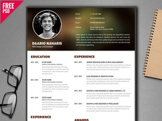 Free Creative Resume Template for Developer