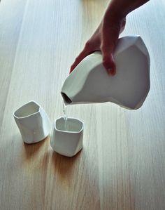 Rock ceramic set by Arkadiusz Szwed