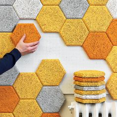 Hexagon Wall Tiles #interior