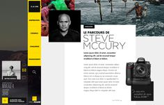 YELLOW FRAME on Behance #layout #ui