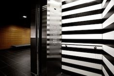 SEGD White Stripes #black and white #display