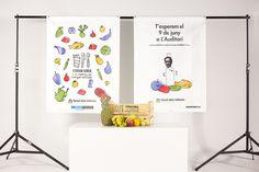 Ferran adria i la fabrica de menjar solidari #syndrome #down #fruits #food #adria #illustration #identity #ferran #social
