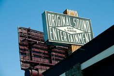 Original Sound Entertainment/Art Laboe #signage #ups #lock #typography