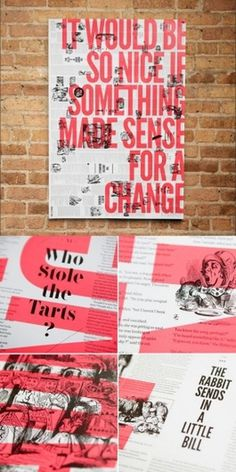 Design Work Life » Brandt Brinkerhoff & Katherine Walker: Storybook Posters #transparency #print #screen #etching #poster #typography