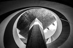Modern Parking: Black and White Architecture Photography by Manuel Martini
