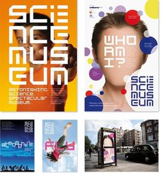 Science Museum | johnson banks #identity #science #museum