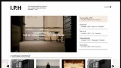 The International Picture House - Web design inspiration from siteInspire #fgdfg