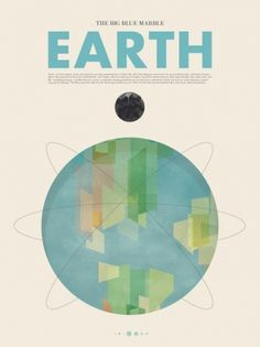 Fancy - Art #world #graphic #earth #illustration #blue