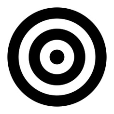 See more icon inspiration related to target, aim, sniper, dart board, shooting and weapons on Flaticon.