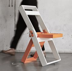 Simple and Comfortable Folding Chair for Academic/Work #interior #design #furniture