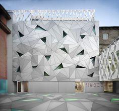 New Museum ABC in Madrid by studio Aranguren & Gallegos #architecture
