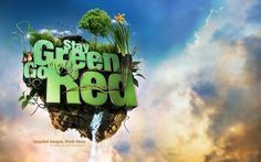 .: SeventhStreet - - downloads - Stay Green. Go Red. :. #typography