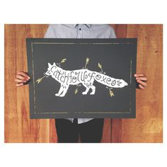 Image of #arrows #print #mewithoutyou #fox