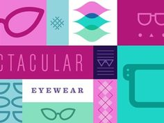 Dribbble - Specs by Mike McQuade #glasses #overlap #mcquade #color #mode #mike #overlay