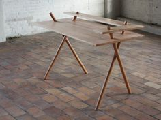 dana cannam design » bravais desk #design #wood #furniture #desk #interior