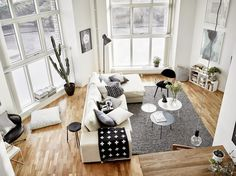 Living room #scandinavian #design #interior