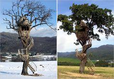 Treehouse by Takashi Kobayashi