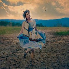 Dreamlike Portrait Photography by Ramak Bamzar