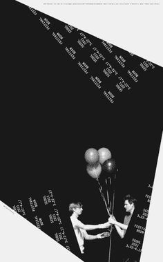 Festival Bo:m 2011, poster series – Sulki & Min #typography