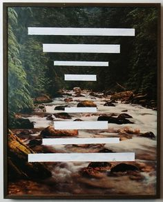 Path In The Creek Bed Brandon F. Wilson #graphic design