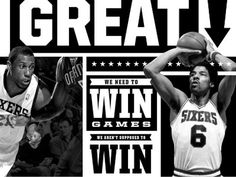 Dribbble - All I do is Win. by Michael Smith #sixers #basketball