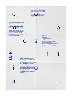 tate modern #design #typography