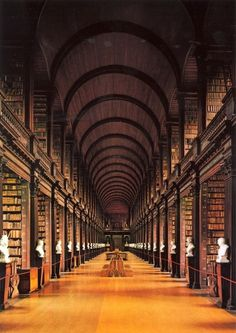 longroom.jpg (JPEG Image, 824x1162 pixels) #libraries #architecture #college #trinity
