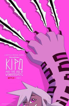 New poster for new season of #Kipo and the Age of Wonderbeasts,