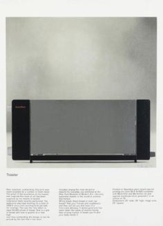 Richard Hamilton - Toaster #richard #hamilton #art
