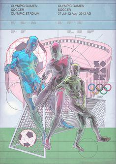Miraglia #illustration #sports #geometric