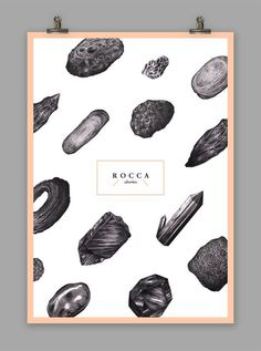 R O C C A stories on Behance #poster