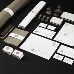 RAAD — Branding on the Behance Network #stamps #identity #branding