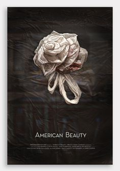 American Beauty Poster on Behance #rose #american #beauty