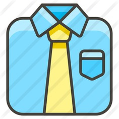 See more icon inspiration related to uniform, shirt, tie, fashion and clothes on Flaticon.