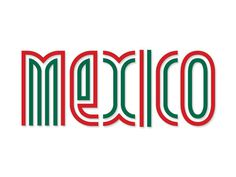 Mexico! by Nikita Prokhorov #typography
