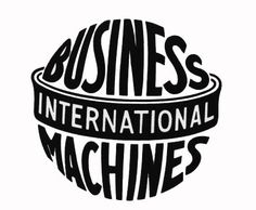 IBM Archives: International Business Machines (1924-1946) #logo #ibm